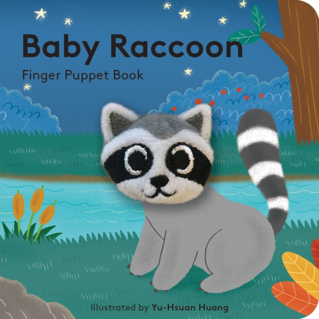 Cover for: Baby Raccoon : Finger Puppet Book