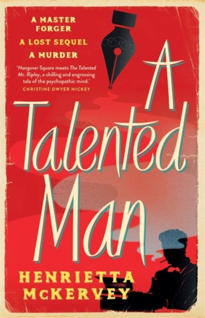 Cover for: A Talented Man : A gripping suspense novel about a lost sequel to Dracula