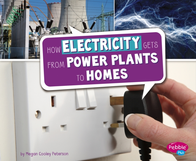 How Electricity Gets from Power Plants to Homes (Here to There) (Library Bindin.