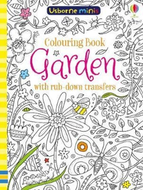 Cover for: Colouring Book Garden with Rub Down Transfers