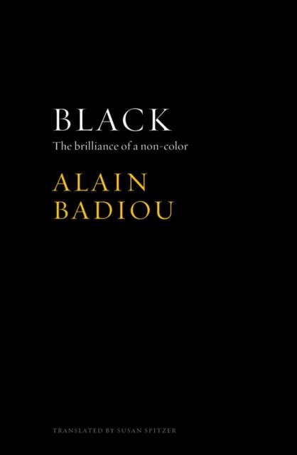 Cover for: Black : The Brilliance of a Non-Color