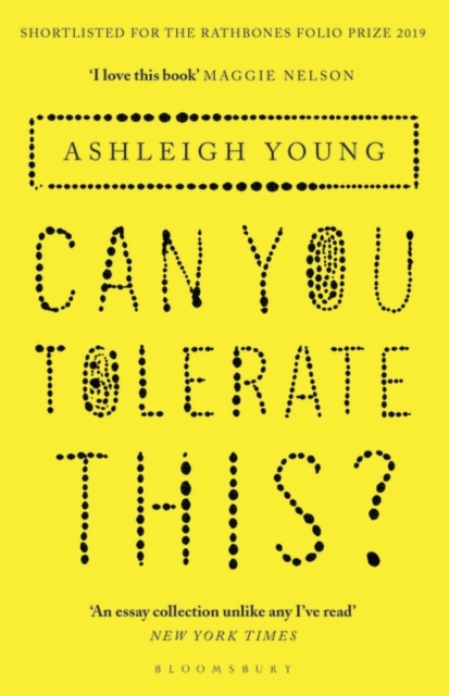 Cover for: Can You Tolerate This?