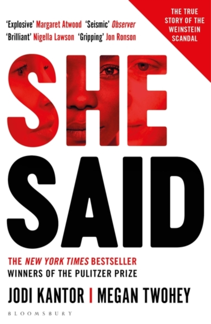 Cover for: She Said : The New York Times bestseller from the journalists who broke the Harvey Weinstein story
