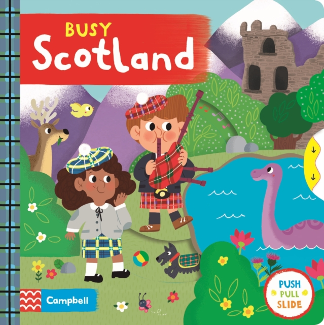 Cover for: Busy Scotland
