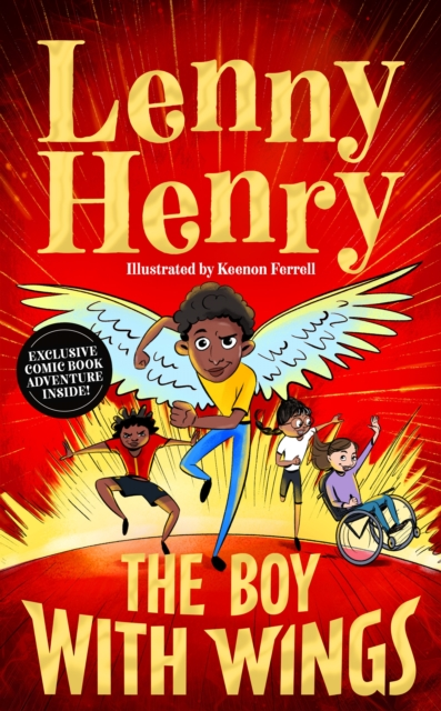 Cover for: The Boy With Wings