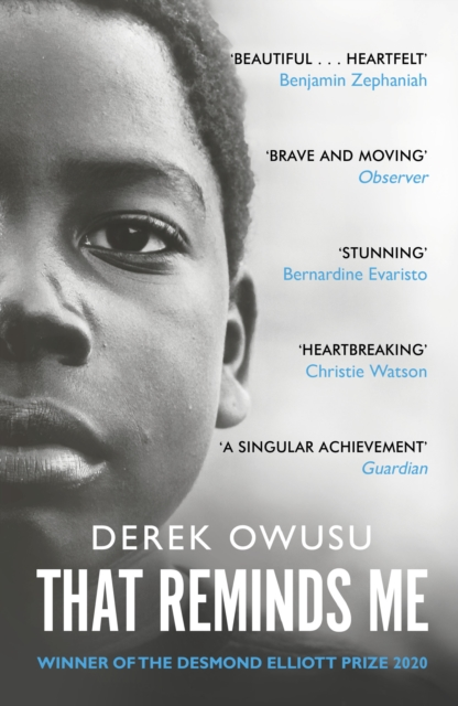 Cover for: That Reminds Me : Winner of the Desmond Elliott Prize 2020