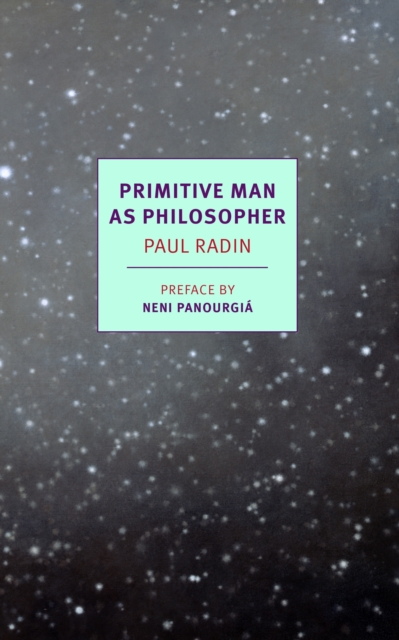 Cover for: Primitive Man As Philosopher