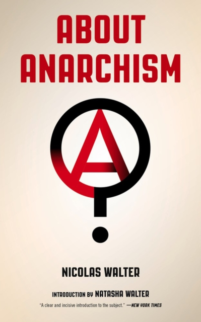 Cover for: About Anarchism