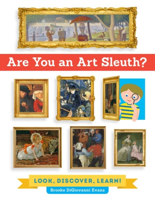 Are You An Art Sleuth?, Digiovanni Evans, Brooke, 9781631591310