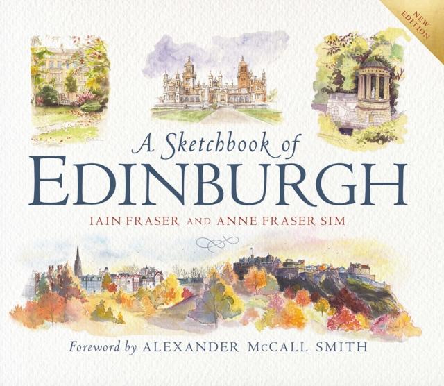 Cover for: A Sketchbook of Edinburgh