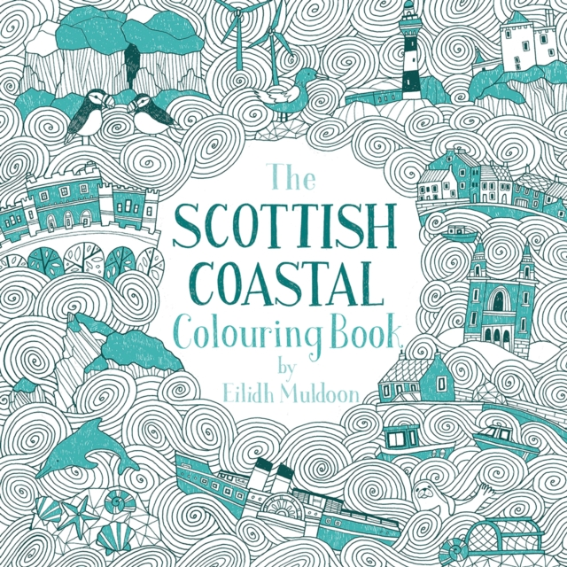 Cover for: The Scottish Coastal Colouring Book