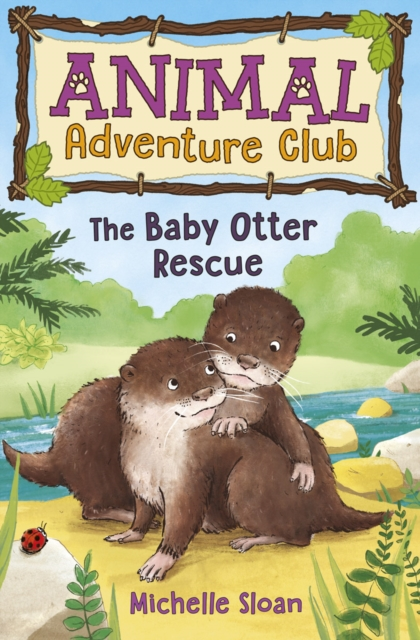 Cover for: The Baby Otter Rescue (Animal Adventure Club 2) : 2