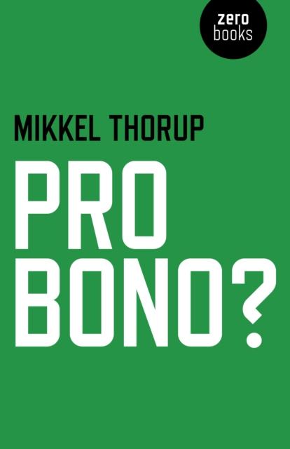 Cover for: Pro Bono?
