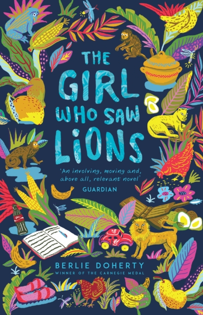 Cover for: The Girl Who Saw Lions
