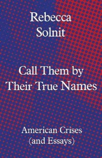 Cover for: Call Them by Their True Names : American Crises (and Essays)