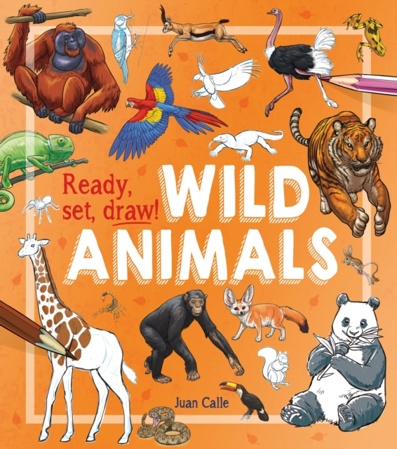 Cover for: Ready, Set, Draw!: Wild Animals