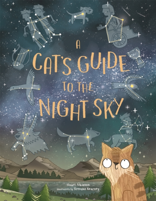 Cover for: A Cat's Guide to the Night Sky