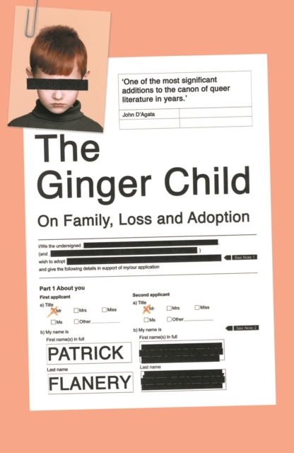 Cover for: The Ginger Child : On Family, Loss and Adoption