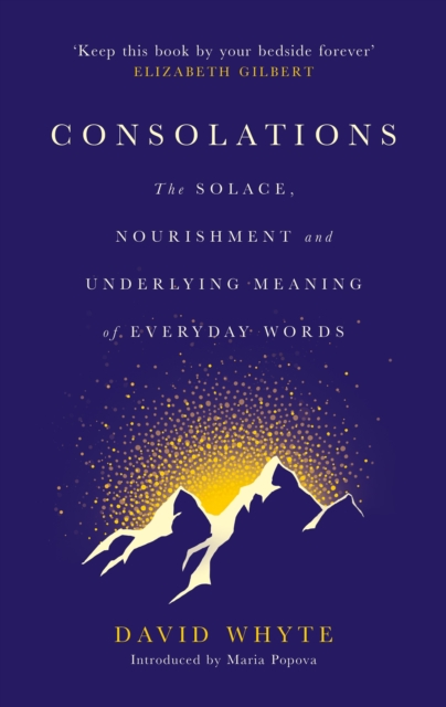 Cover for: Consolations : The Solace, Nourishment and Underlying Meaning of Everyday Words