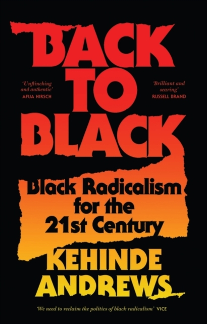 Cover for: Back to Black : Black Radicalism for the 21st Century