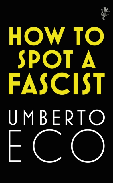 Cover for: How to Spot a Fascist