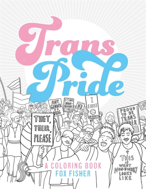 Image for Trans Pride : A Coloring Book