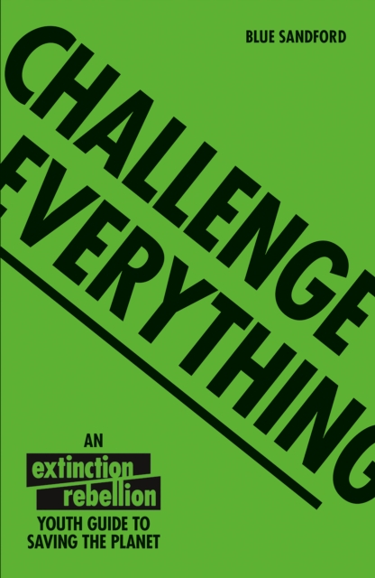 Cover for: Challenge Everything : An Extinction Rebellion Youth guide to saving the planet
