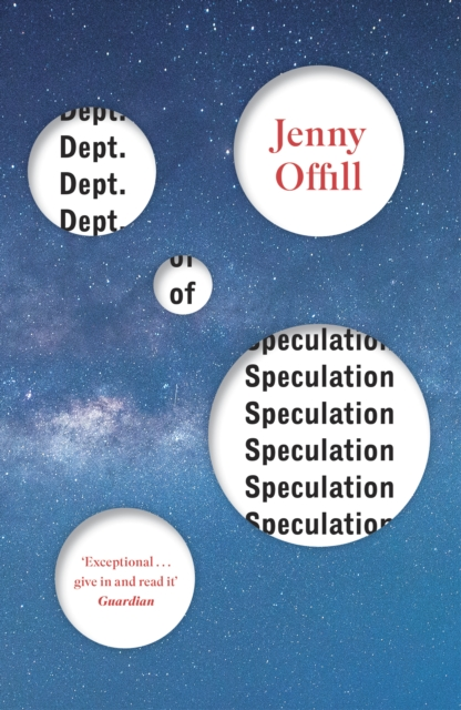 Cover for: Dept. of Speculation