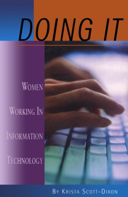Cover for: Doing IT : Women Working In Information Technology