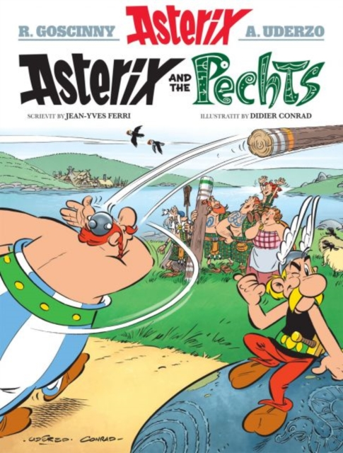 Cover for: Asterix and the Pechts