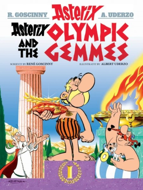 Cover for: Asterix and the Olympic Gemmes