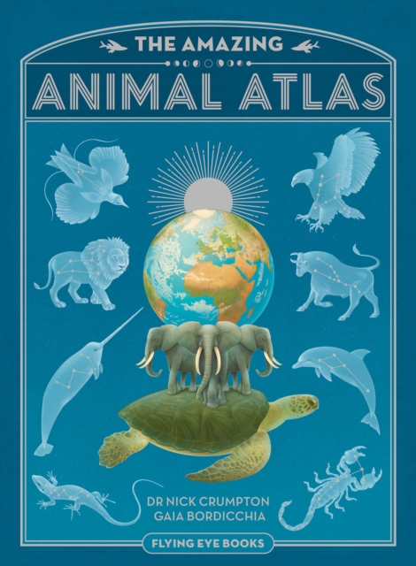 Cover for: The Amazing Animal Atlas