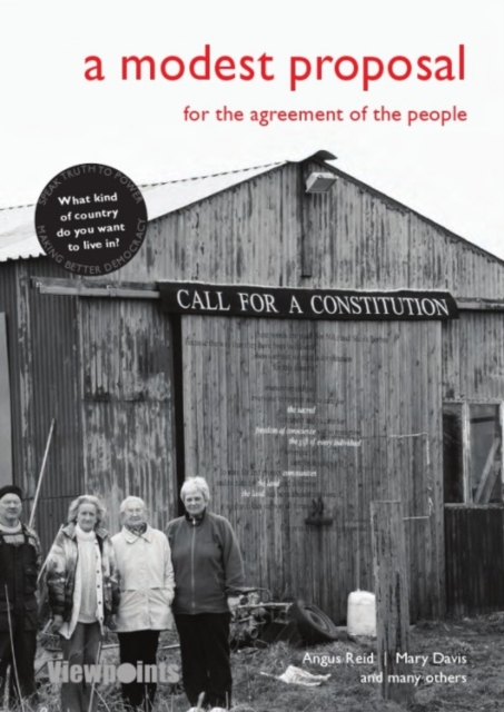 Cover for: A Modest Proposal : For the agreement of the people