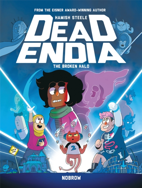 Cover for: DeadEndia: The Broken Halo