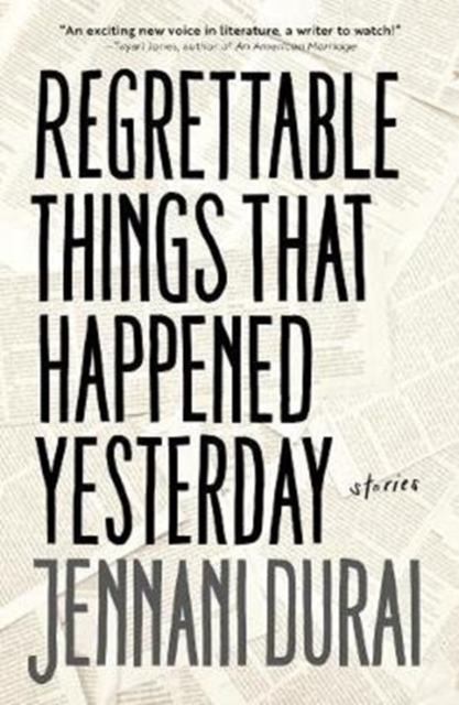 Cover for: Regrettable Things That Happened Yesterday