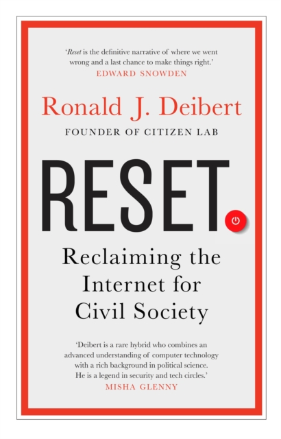 Cover for: Reset : Reclaiming the Internet for Civil Society