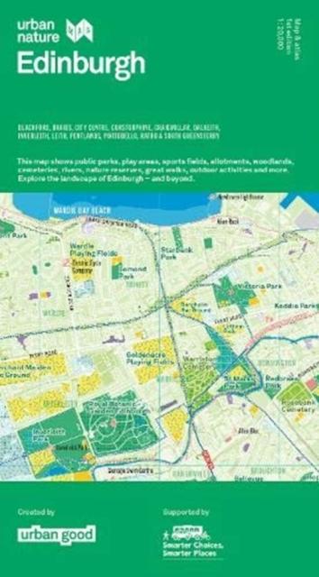 Image for Urban Nature Edinburgh Map