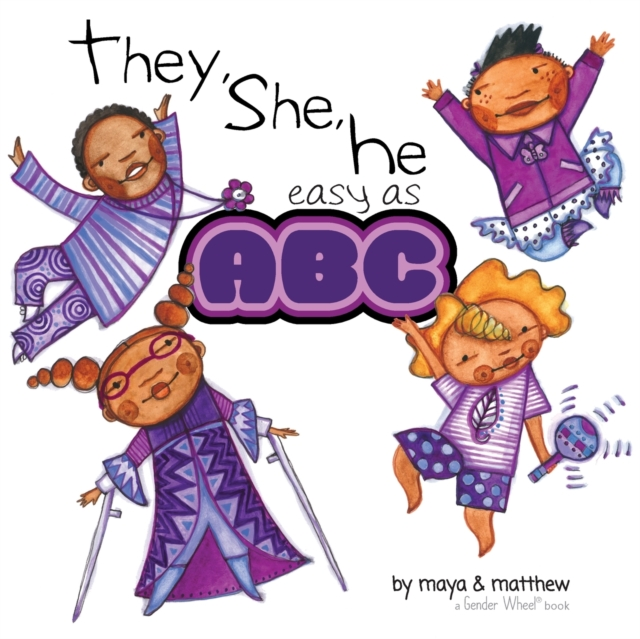 Cover for: They, She, He easy as ABC