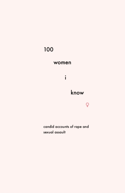Cover for: 100 Women I Know : Candid accounts of rape and sexual assault