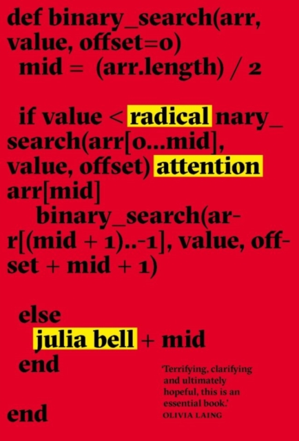 Cover for: Radical Attention